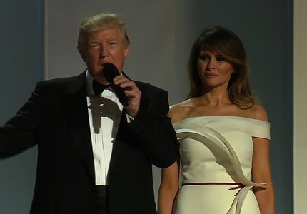 Inaugural Balls: The Trumps' First Dance